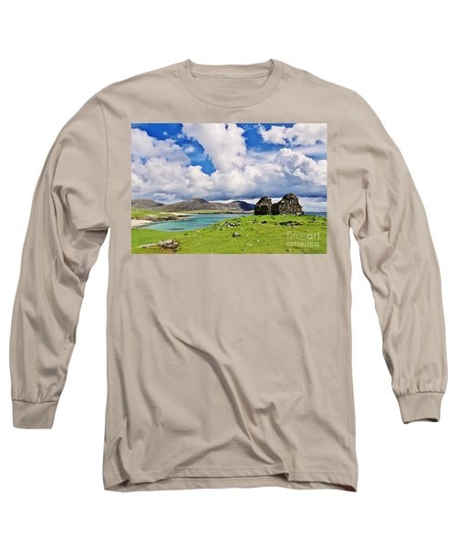 A Sunny Day In The Hebrides Long Sleeve T-Shirt