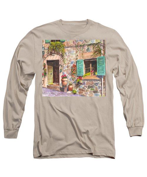A Townhouse In Majorca Spain Long Sleeve T-Shirt
