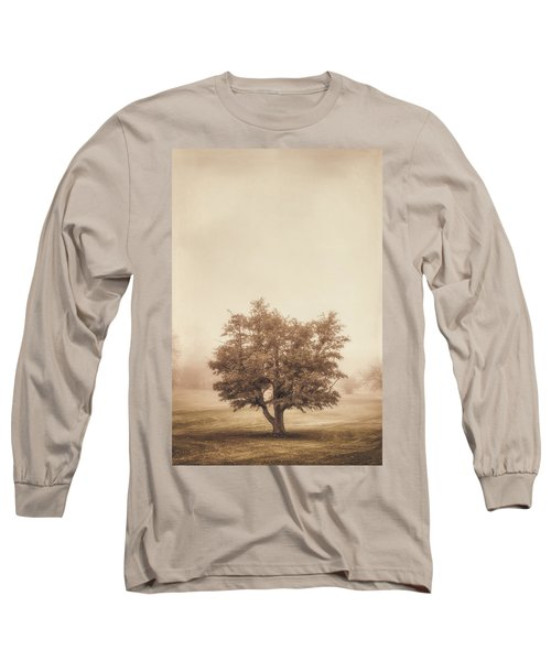 A Tree In The Fog Long Sleeve T-Shirt