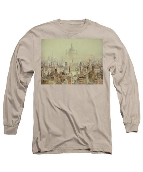 A Tribute To Sir Christopher Wren Long Sleeve T-Shirt