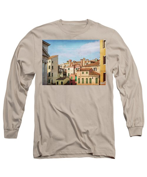 Long Sleeve T-Shirt featuring the photograph A Venetian View by Brooke T Ryan
