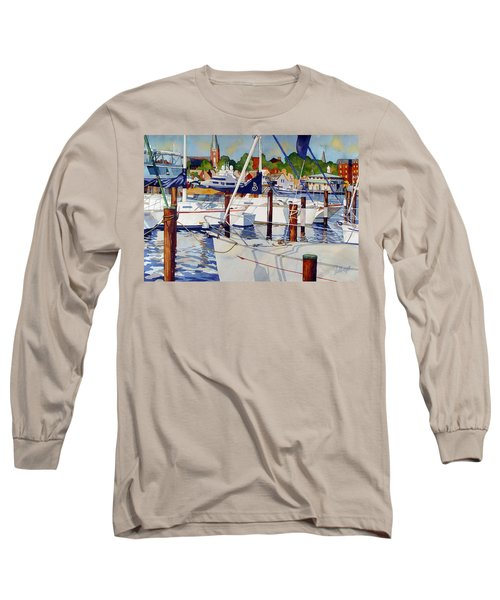 A View From The Pier Long Sleeve T-Shirt