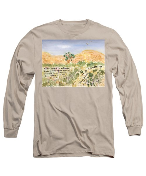 A Voice Calls Long Sleeve T-Shirt