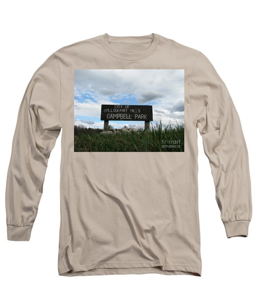 Long Sleeve T-Shirt featuring the photograph A Walk In The Park  by Michael Krek