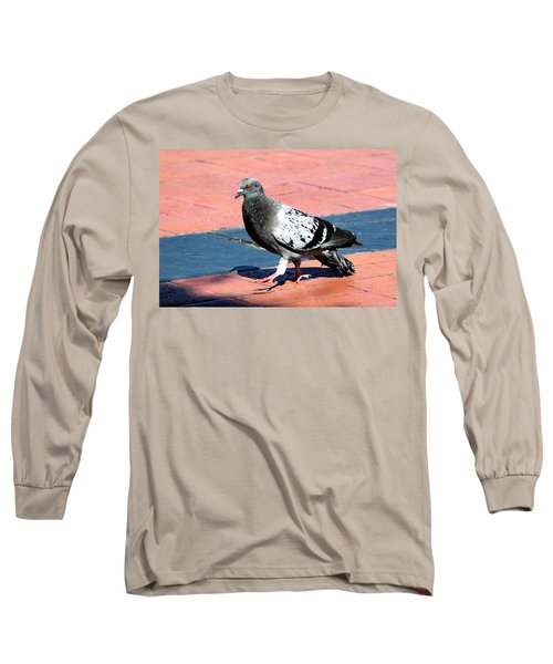 A Walk In The Square Long Sleeve T-Shirt