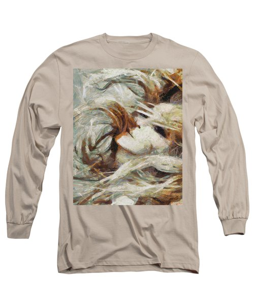 Long Sleeve T-Shirt featuring the painting A Wild Dance by Joe Misrasi