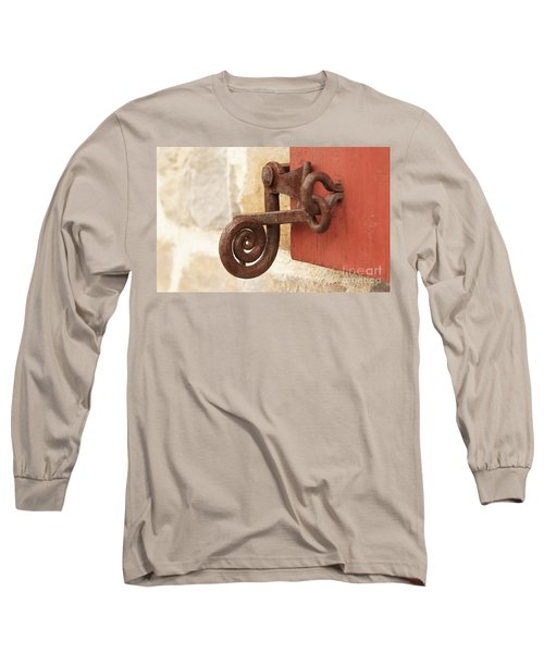 A Window Latch Long Sleeve T-Shirt