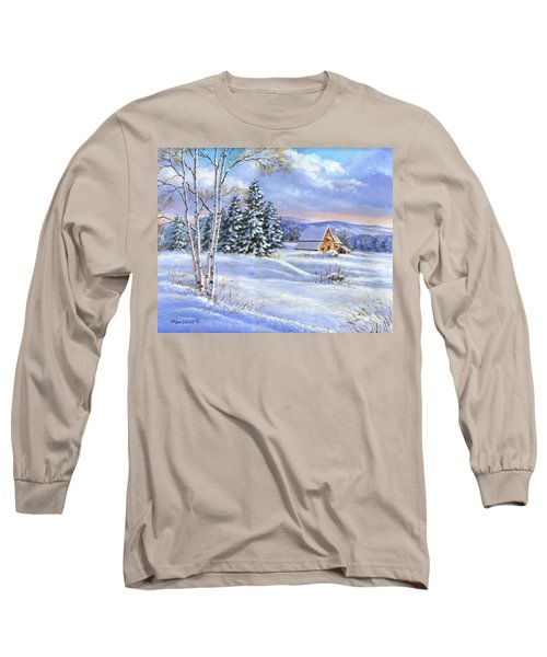 A Winter Afternoon Long Sleeve T-Shirt