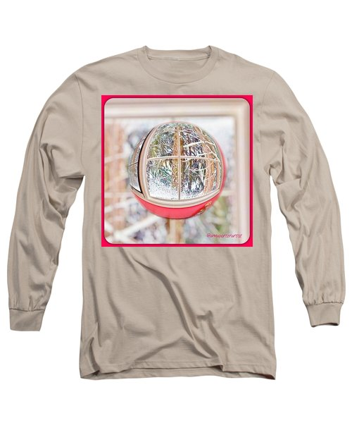 A Winter Marble From Christmas Past Long Sleeve T-Shirt