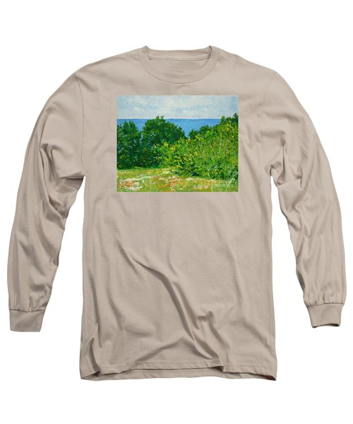 A Winter's Day At The Beach Long Sleeve T-Shirt