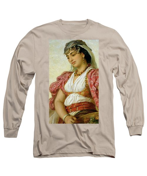 A Woman From Algiers Long Sleeve T-Shirt