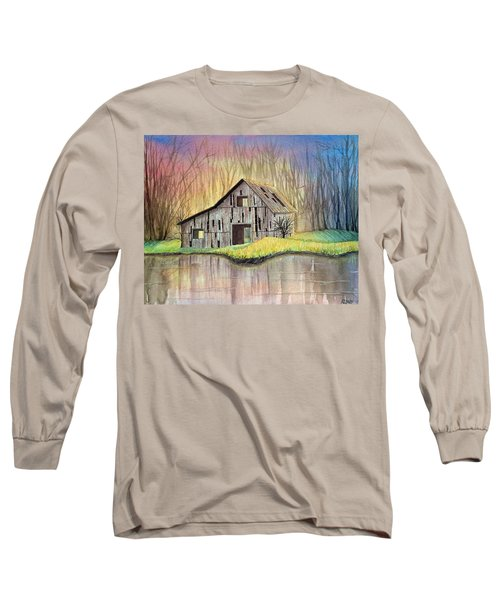 Abandoned By The Water Long Sleeve T-Shirt