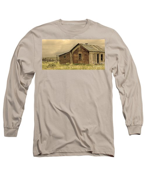 Long Sleeve T-Shirt featuring the photograph Abandoned by Nick  Boren