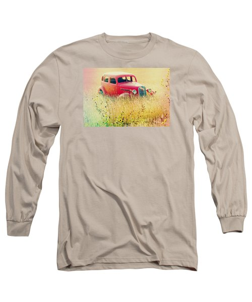 Abandoned Treasure Long Sleeve T-Shirt by Leticia Latocki