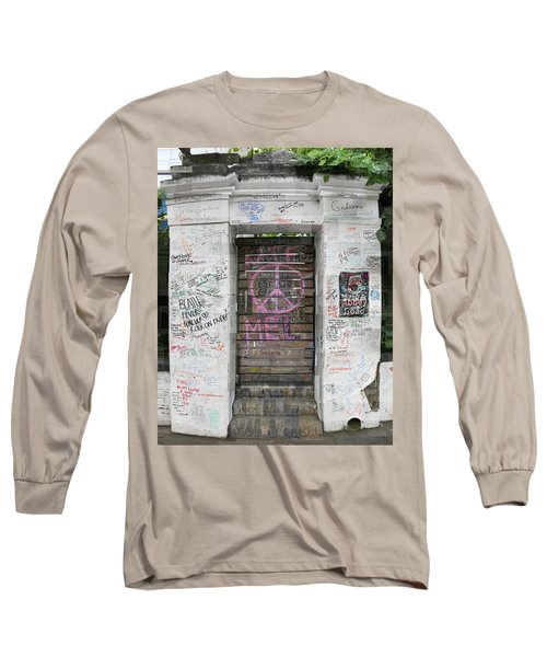 Abbey Road Graffiti Long Sleeve T-Shirt