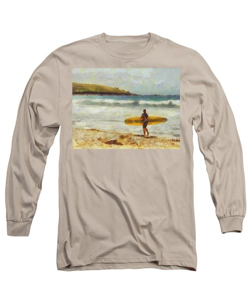 About To Surf Long Sleeve T-Shirt