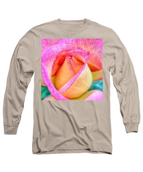 About To Unfold Long Sleeve T-Shirt