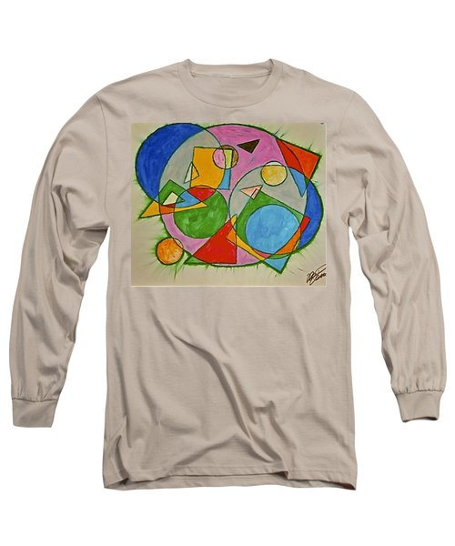 Abstract 89-001 Long Sleeve T-Shirt
