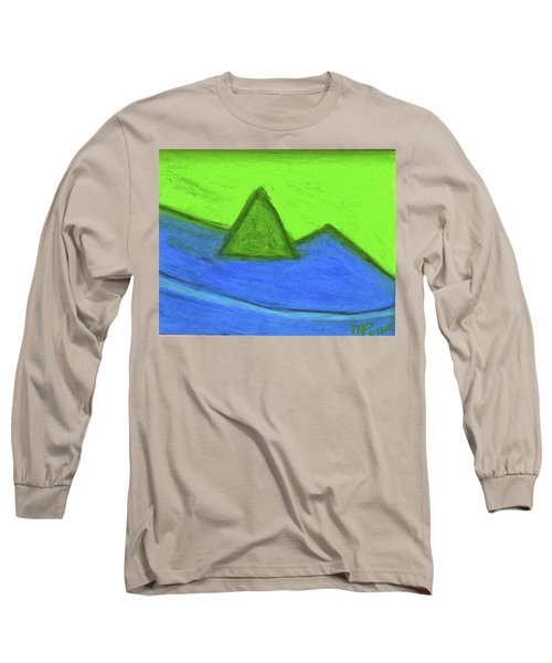 Abstract 92-001 Long Sleeve T-Shirt