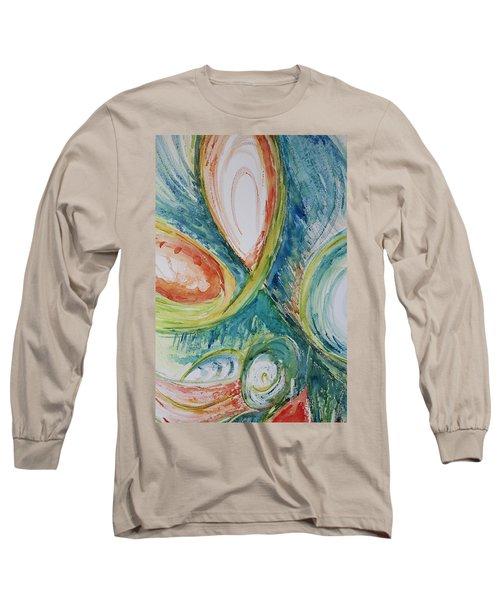 Abstract Chaos Long Sleeve T-Shirt