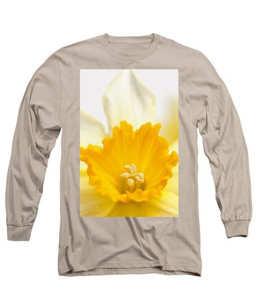 Abstract Daffodil Long Sleeve T-Shirt