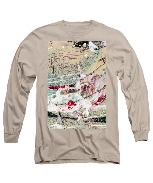 Abstract Original Painting Number Eight Long Sleeve T-Shirt