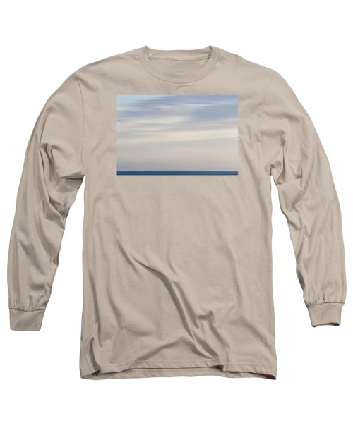 Abstract Seascape No. 01 Long Sleeve T-Shirt