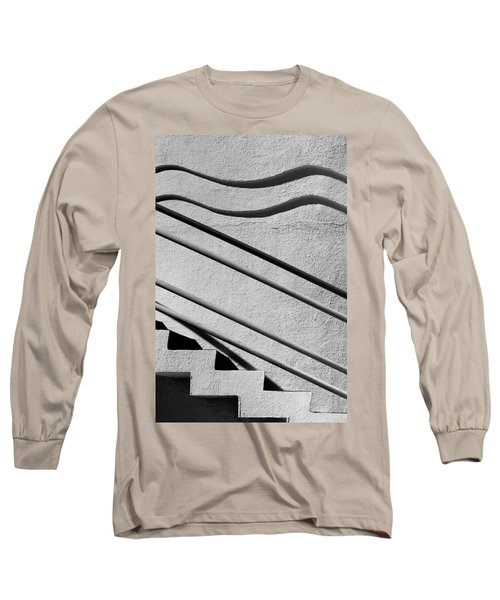 Abstract Stairs Long Sleeve T-Shirt