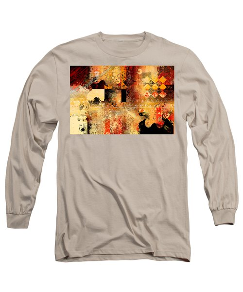 Abstracture - 103106046f Long Sleeve T-Shirt by Variance Collections