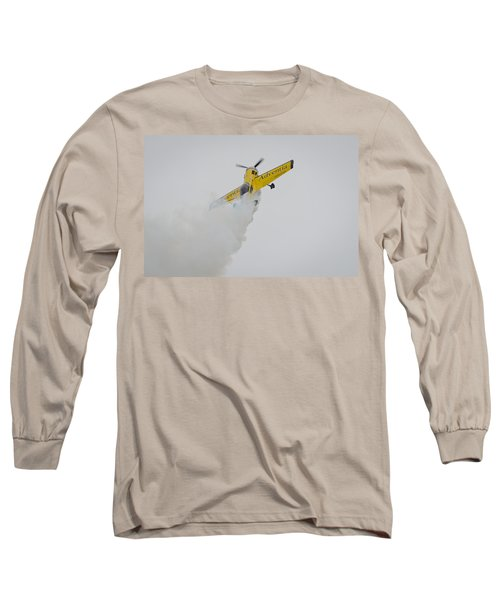 Aerobatics At Cuatro Vientos II Long Sleeve T-Shirt