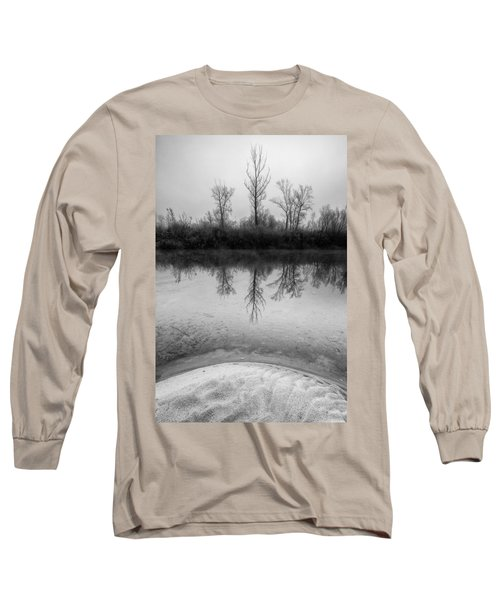 Across The Water Long Sleeve T-Shirt by Davorin Mance