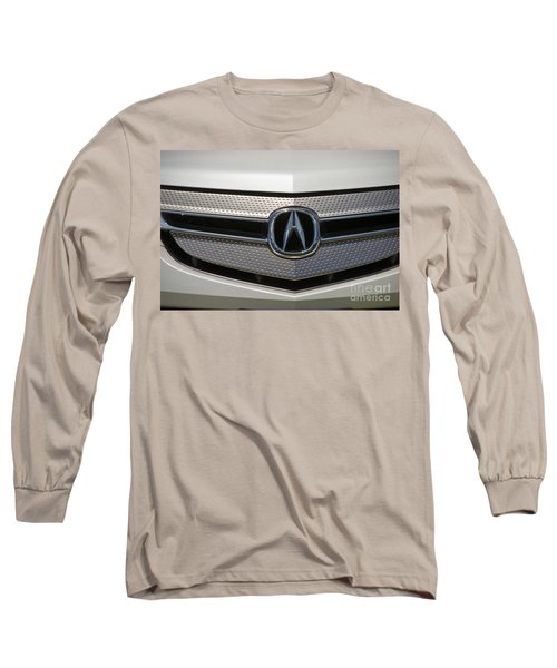 Acura Grill Emblem Close Up Long Sleeve T-Shirt