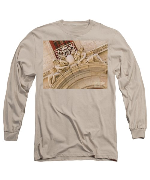 Long Sleeve T-Shirt featuring the photograph Adolphus Hotel - Dallas #3 by Robert ONeil