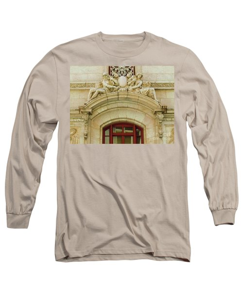 Long Sleeve T-Shirt featuring the photograph Adolphus Hotel - Dallas #4 by Robert ONeil