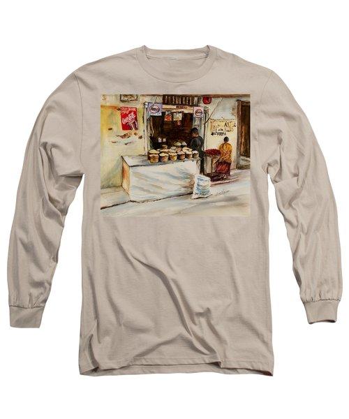 African Corner Store Long Sleeve T-Shirt
