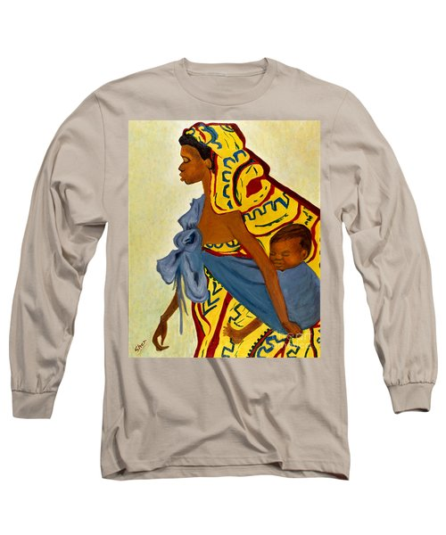 African Mother And Child Long Sleeve T-Shirt