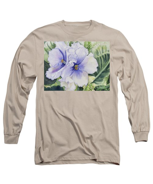 African Violet Long Sleeve T-Shirt