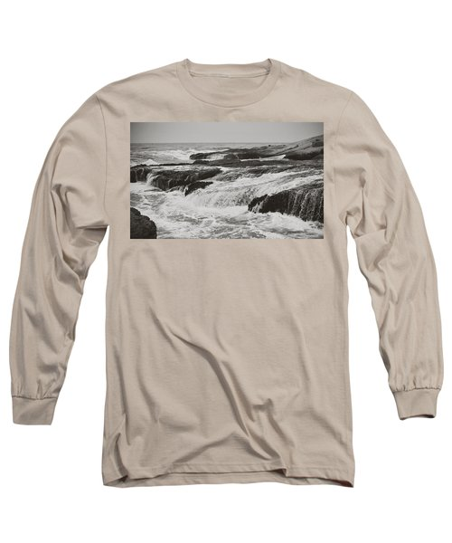 Long Sleeve T-Shirt featuring the photograph After The Crash by Laurie Search