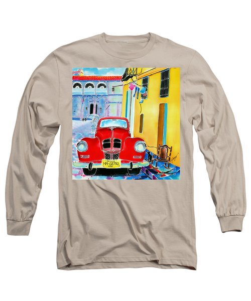 Afternoon In Havana Long Sleeve T-Shirt