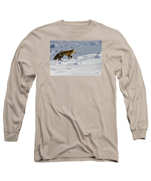 Against The Glare-signed Long Sleeve T-Shirt by J L Woody Wooden