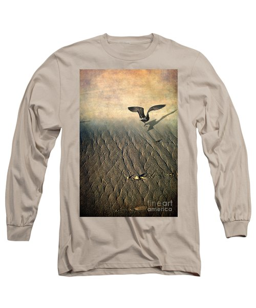 Against The Tide Long Sleeve T-Shirt by Ellen Cotton