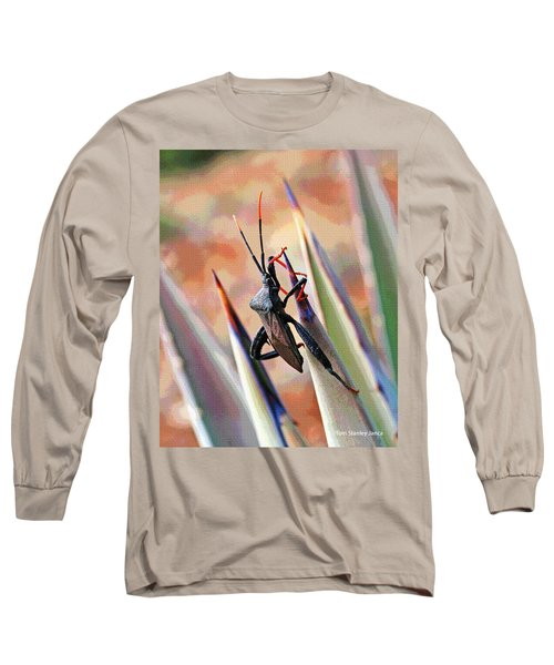 Agave Bug  Long Sleeve T-Shirt by Tom Janca