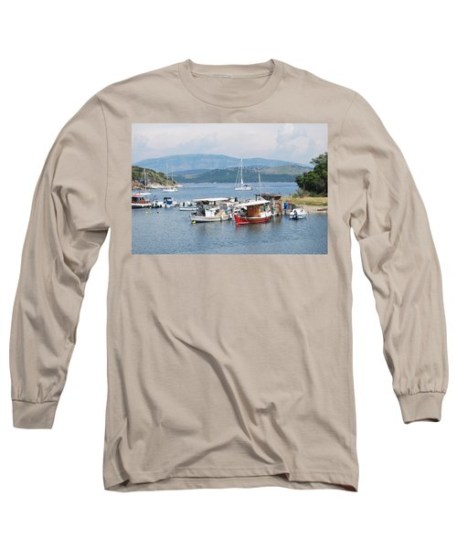 Agios Stefanos Long Sleeve T-Shirt by George Katechis