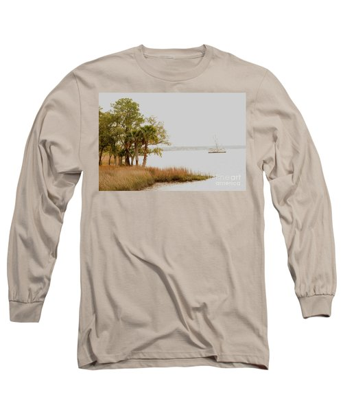 Aground At The Marsh Long Sleeve T-Shirt