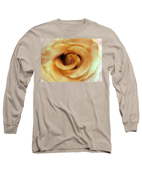 Airbrush Rose Long Sleeve T-Shirt
