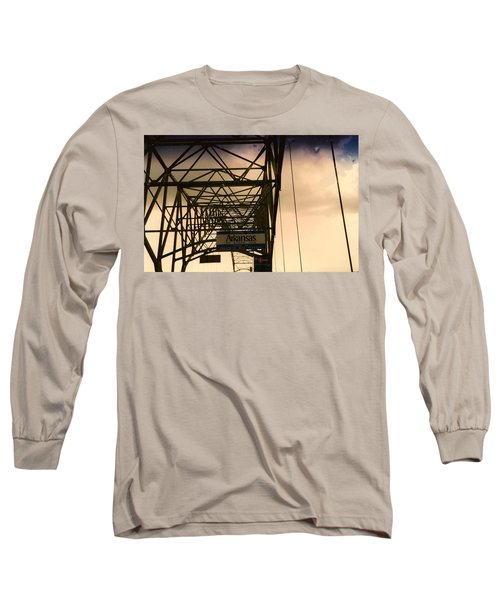 Long Sleeve T-Shirt featuring the photograph Akansas Here We Come by Amazing Photographs AKA Christian Wilson