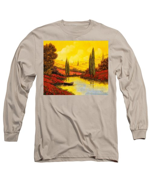 Al Tramonto Sul Torrente Long Sleeve T-Shirt