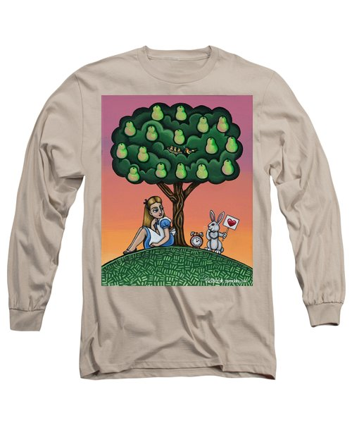 Alice In Wonderland Art Long Sleeve T-Shirt