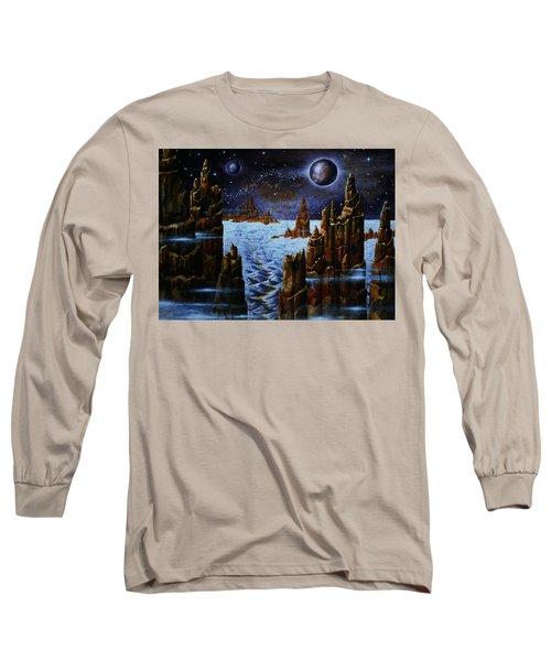 Ice And Snow  Planet  Long Sleeve T-Shirt