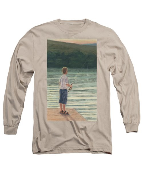 All Day Long Long Sleeve T-Shirt by Arlene Crafton